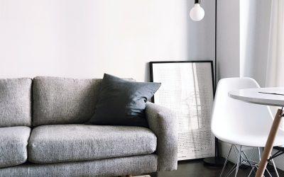 Möbler för studiolägenheten